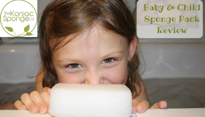 Konjac Sponges Baby & Child Sponge Pack Review