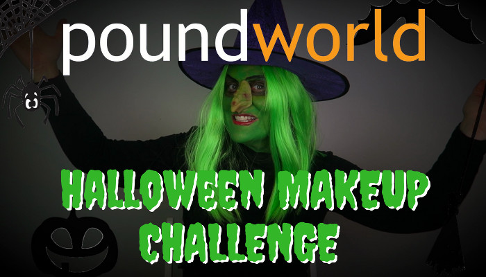 Halloween Poundworld Makeup Challenge