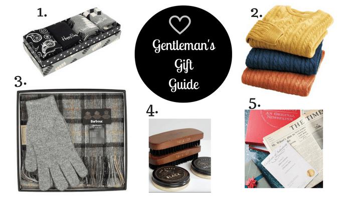 Gentleman's Gift Guide