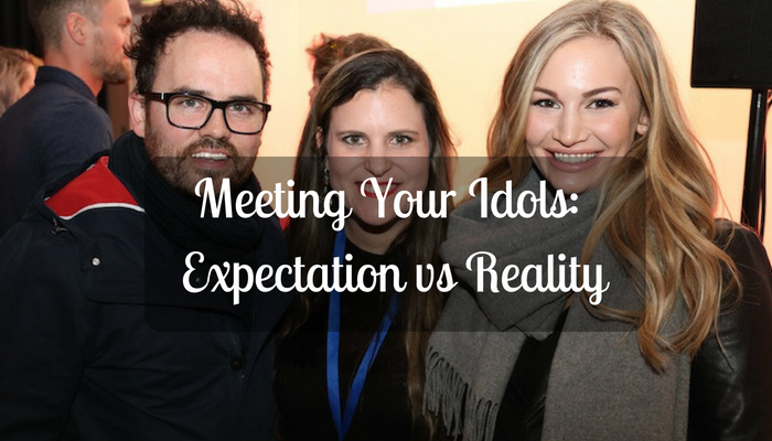 Meeting Your Idols: Expectation vs Reality
