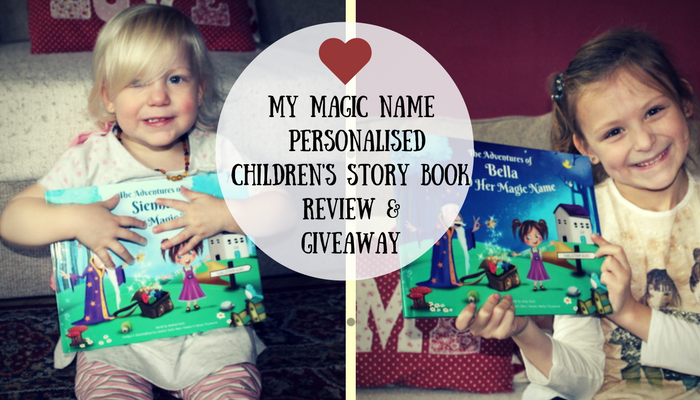 My Magic Name – Personalised Children's Story Book Review & Giveaway