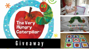 The Very Hungry Caterpillar Giveaway