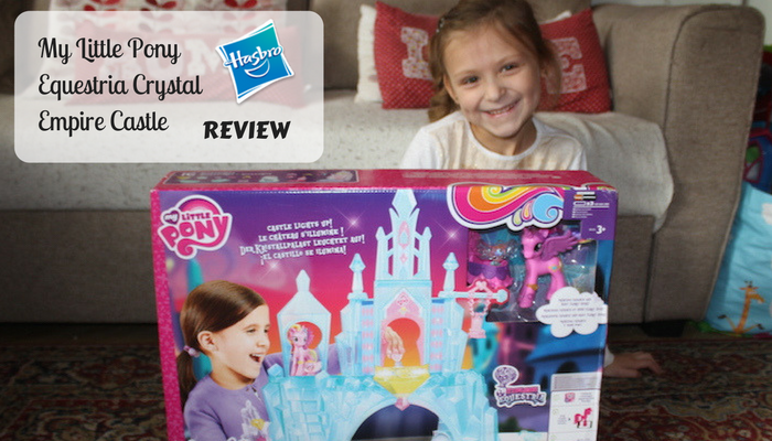 Hasbro My Little Pony Equestria Crystal Empire Castle Review