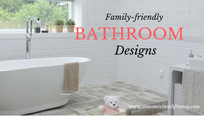 Family-friendly Bathroom Designs