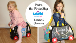 Pedro the Pirate Ship Trunki Review & Giveaway
