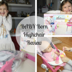 BABY Born Highchair Review