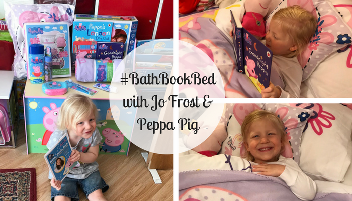 #BathBookBed with Jo Frost & Peppa Pig