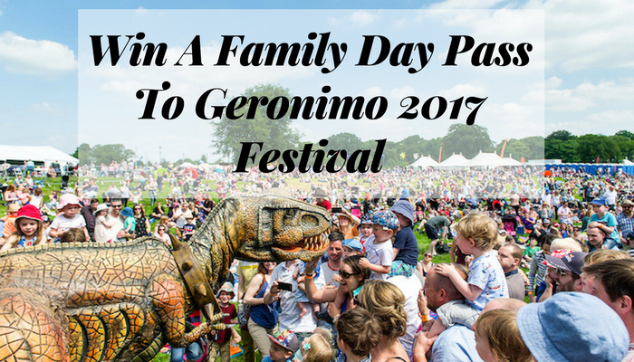 Win A Family Day Pass To Geronimo 2017 Festival