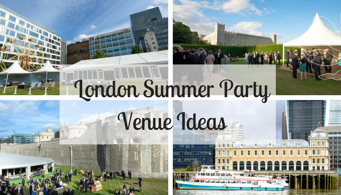 London Summer Party Venue Ideas