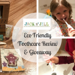 Jack N' Jill Eco Friendly Toothcare Review & Giveaway