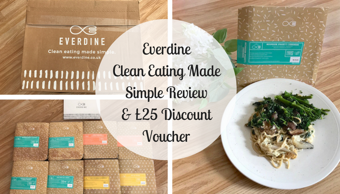 Everdine Clean Eating Made Simple Review & £25 Discount Voucher