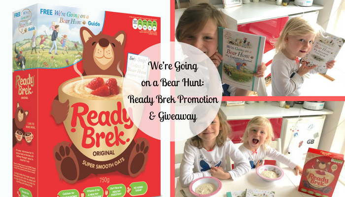 We're Going on a Bear Hunt: Ready Brek Promotion & Giveaway