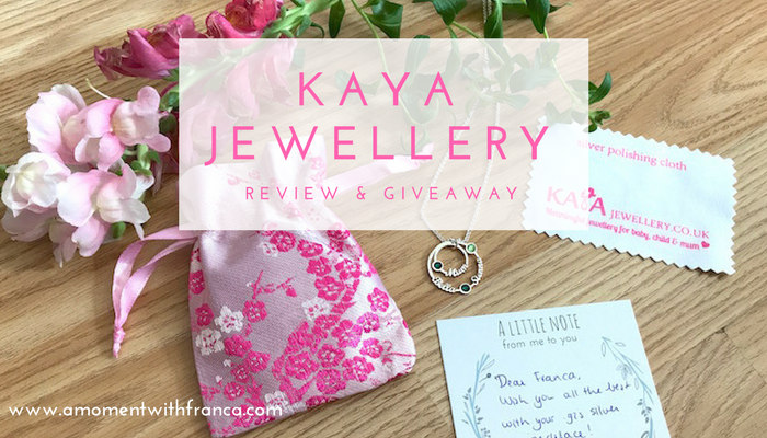 KAYA Jewellery Review & Giveaway