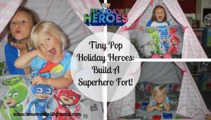 Tiny Pop Holiday Heroes: Build A Superhero Fort!