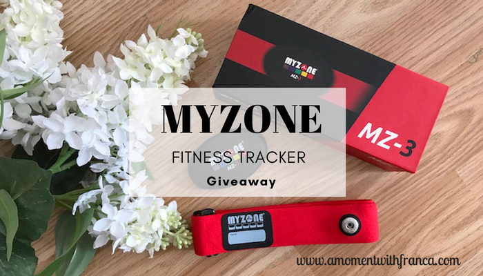 MYZONE Fitness Tracker Giveaway