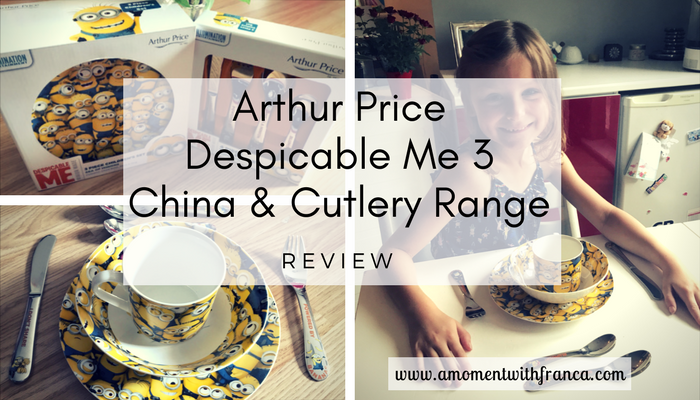 Arthur Price Despicable Me 3 China & Cutlery Range Review