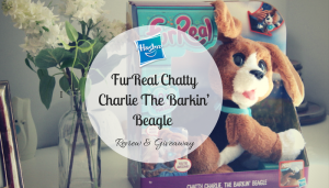 Hasbro FurReal Chatty Charlie The Barkin' Beagle Review & Giveaway