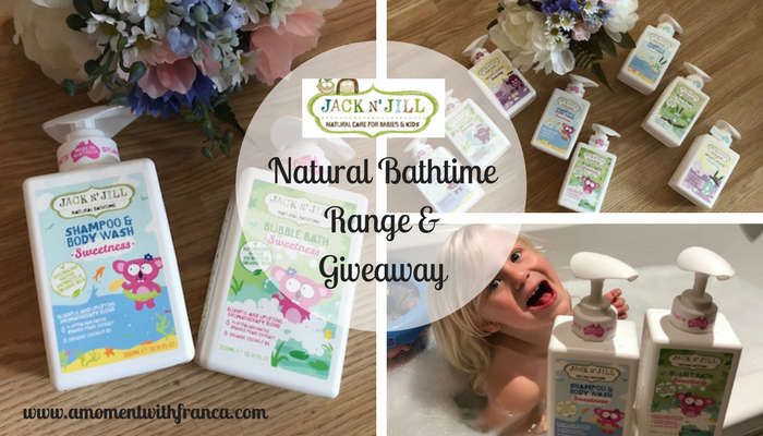 Jack N' Jill Natural Bathtime Range & Giveaway