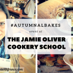 #AutumnalBakes Event At The Jamie Oliver Cookery School