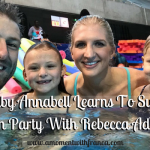 Baby Annabell Learns To Swim Launch Party With Rebecca Adlington