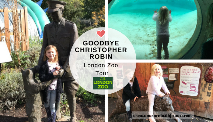 Goodbye Christopher Robin London Zoo Tour