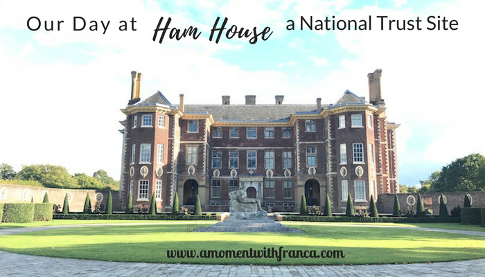 Ham House, Our day at a National Trust Site