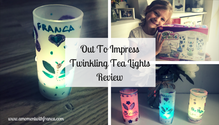 Out To Impress Twinkling Tea Lights Review