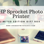 HP Sprocket Photo Printer Limited Edition Gift Box – Loving It!