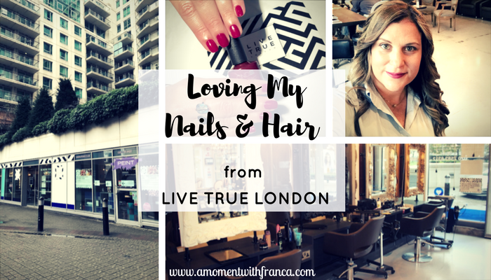 Loving My Nails & Blow Dry From Live True London