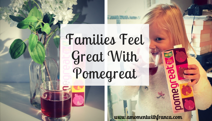 Families Feel Great With Pomegreat