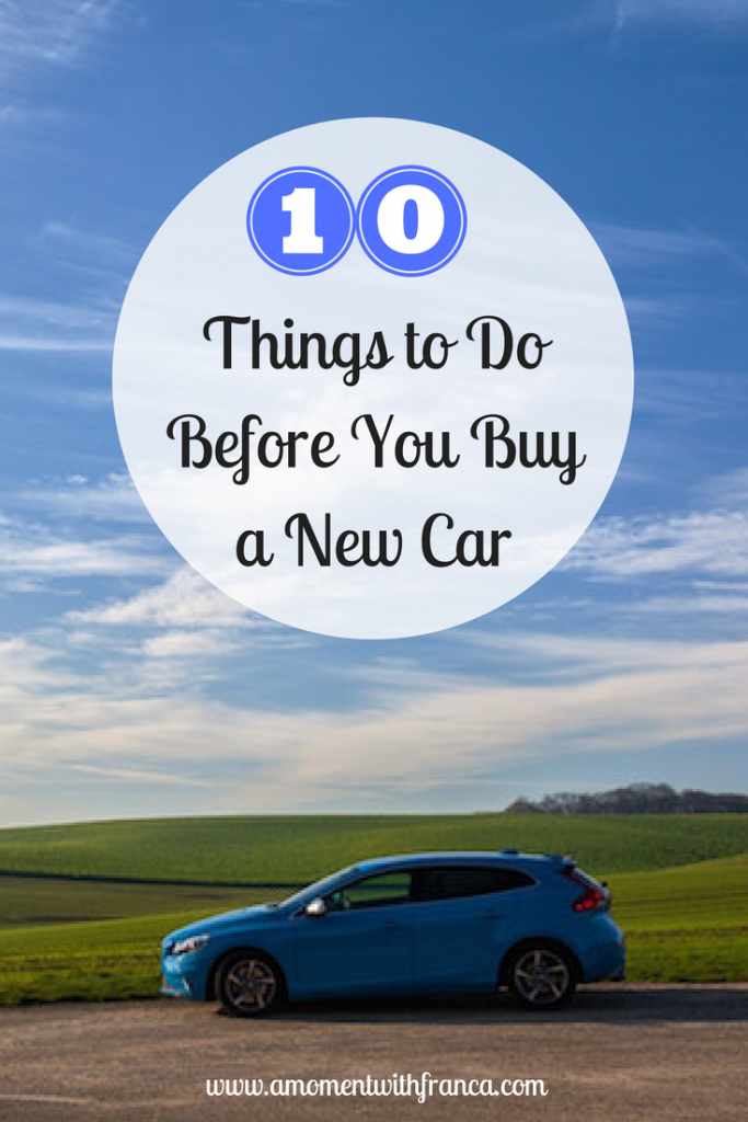 how to know when to buy a new car