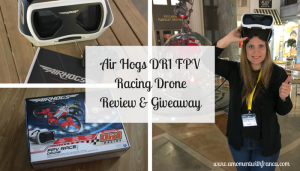 Air Hogs DR1 FPV Racing Drone Review & Giveaway