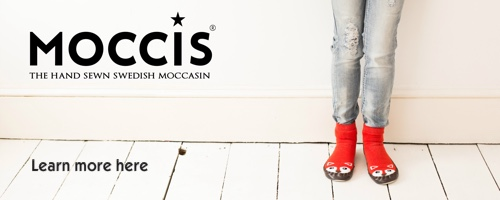 Moccis Banner showing a someone wearing the Mr Fox design