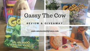 Gassy The Cow Game Review & Giveaway