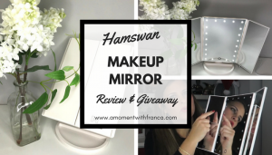 Loving My New Hamswan Makeup Mirror & Giveaway