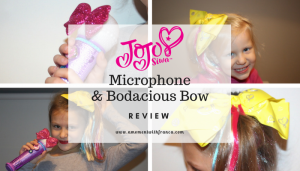 JoJo Siwa Microphone & Bodacious Bow Review
