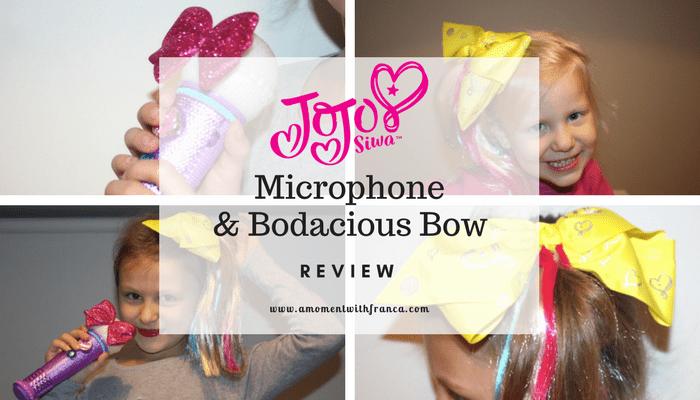 JoJo Siwa Microphone & Bodacious Bow Review