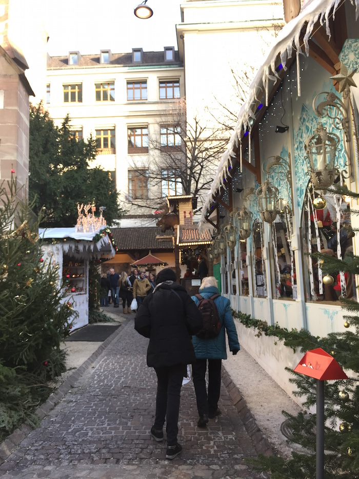 Treated.com - Street with Christmas decorations in Basel