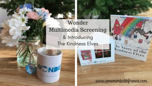 Wonder Multimedia Screening & Introducing The Kindness Elves