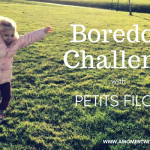 """Boredom Challenge"" with Petits Filous"