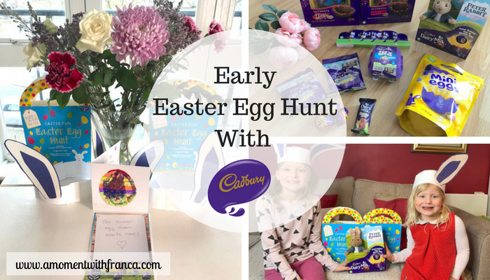 Early Easter Egg Hunt With Cadbury
