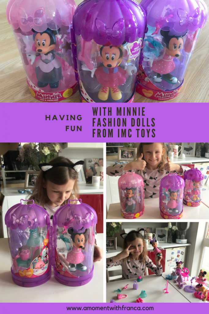 Having Fun With Minnie Fashion Dolls From Imc Toys A Moment With