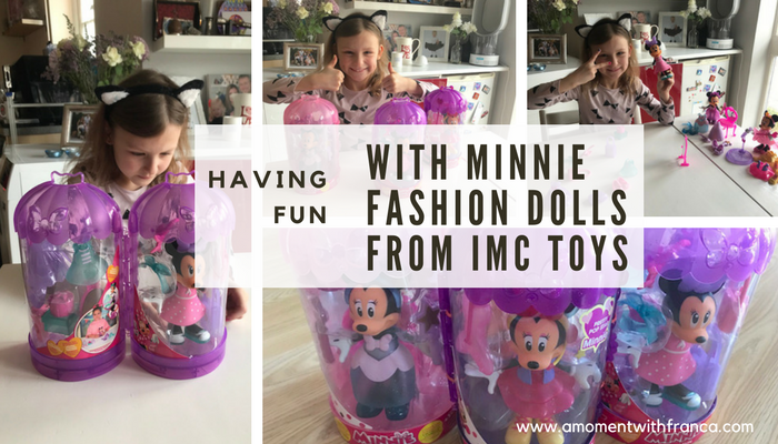 Having Fun With Minnie Fashion Dolls From IMC Toys