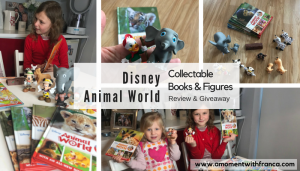 Disney Animal World Collectable Books & Figures – Giveaway