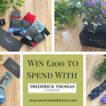 Win £100 to Spend With Frederick Thomas London in our Father's Day Giveaway!