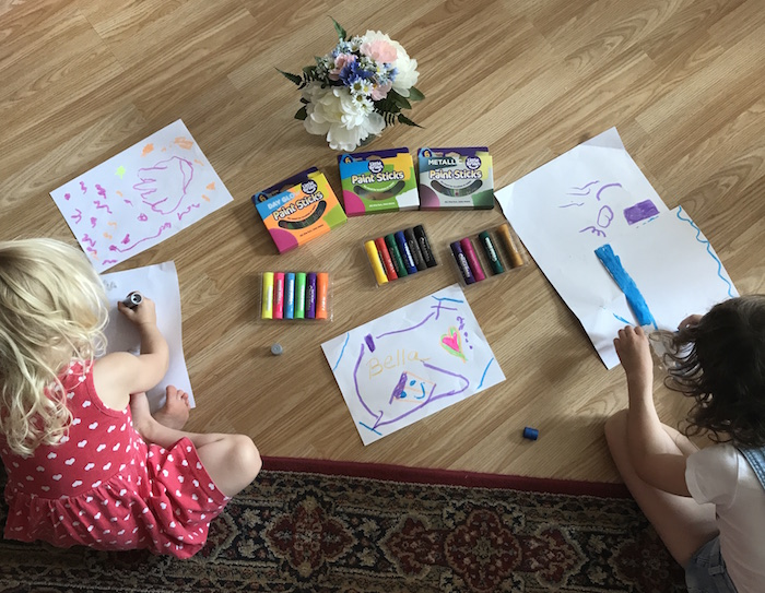 Little Brian Paint Sticks Review & Giveaway • A Moment With Franca