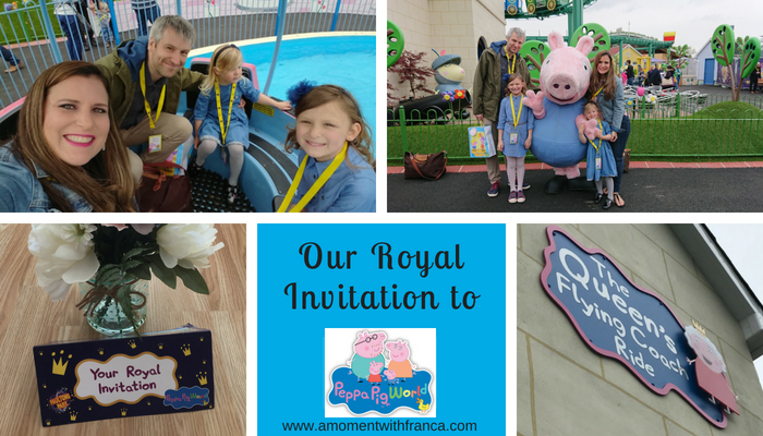 Our Royal Invitation To Peppa Pig World