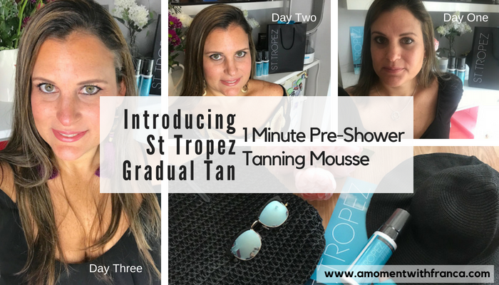 St Tropez Gradual Tan 1 Minute Pre-Shower Tanning Mousse Review