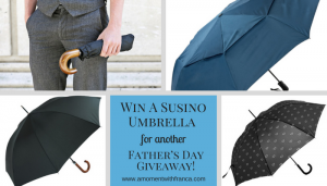 Win A Susino Umbrella For Another Father's Day Giveaway!