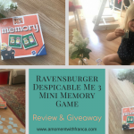 Ravensburger Despicable Me 3 Mini Memory Game Review & Giveaway